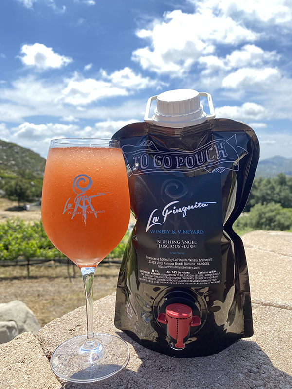 Blushing Angel - 1.5L Growler Bag